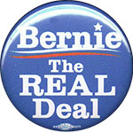 Bernie Sanders button