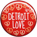 Detroit Love button