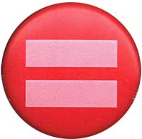 Equality symbol button