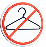 No coat hanger aborthions button