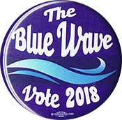 the blue wave button